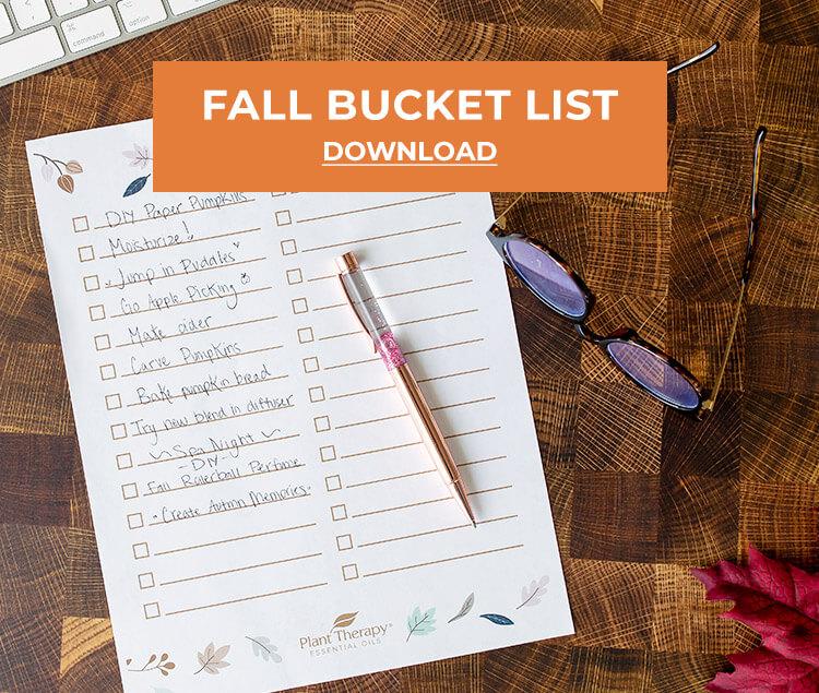 Fall Bucket List Download PDF