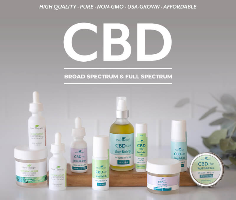CBD - Broad Spectrum & Full Spectrum - High qualty, pure, non-GMO, USA Grown, Affordable