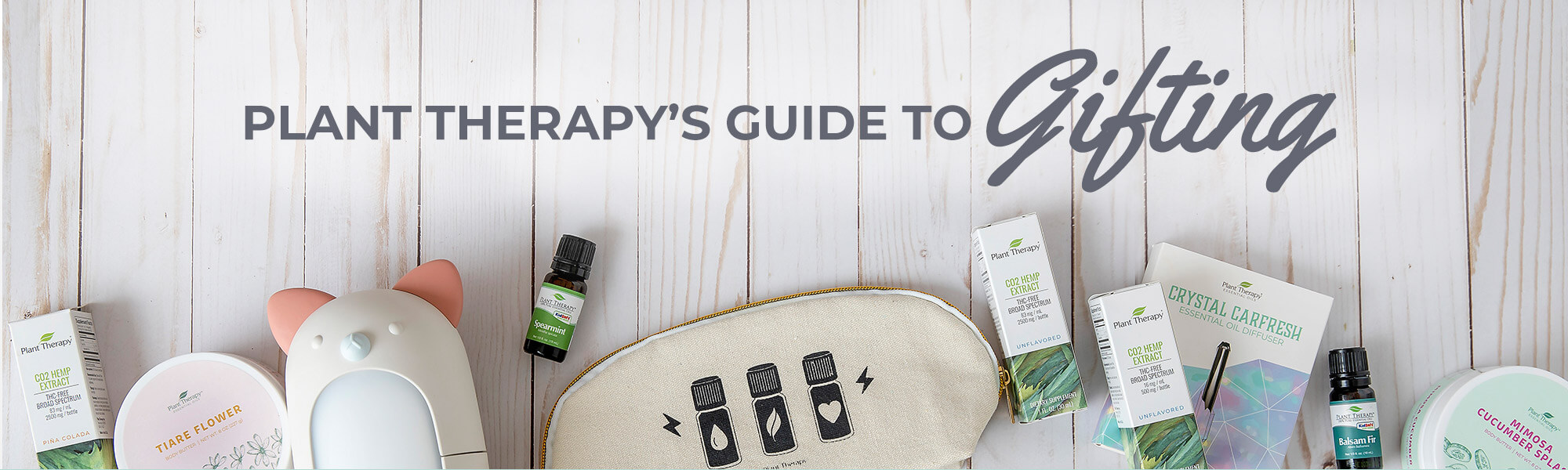 Plant Therapy's Essential Oil Gift Guide