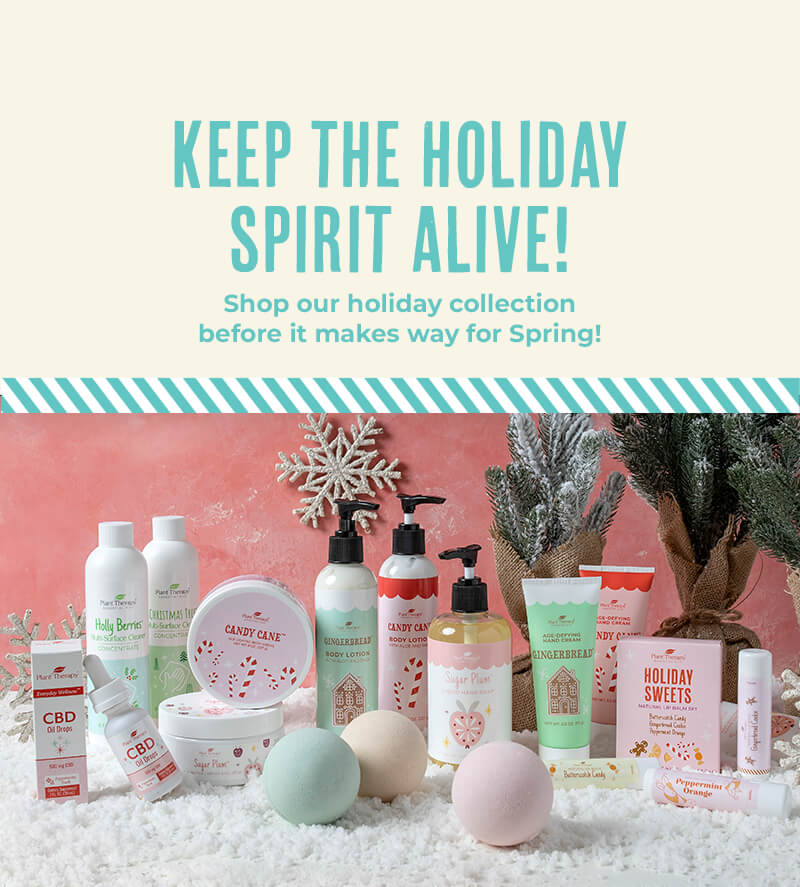 Keep the winter magic alive! Stock up on your favorite seasonal products