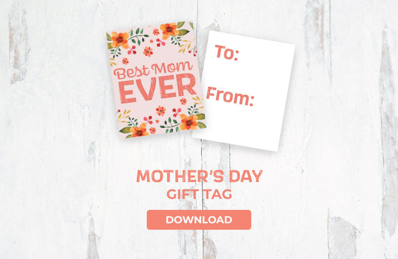 Mother's Day Gift Tag Download