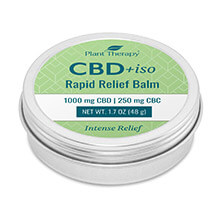CBD+iso Rapid Relief Balm