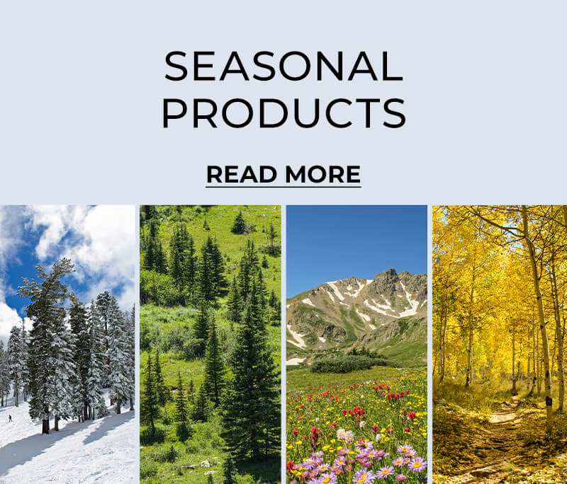 Seasonal Products - Read More