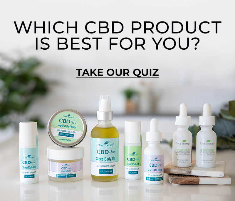 Which CBD Product is best for you? Take Our Quiz