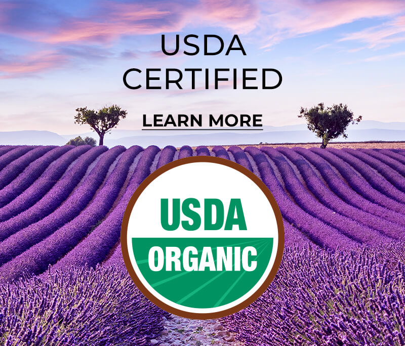 USDA Certified - Learn More